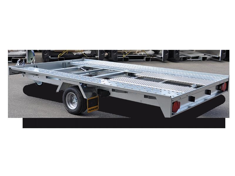 Humbaur Fahrzeugtransporter FTK 153520, Einachser, 1500kg-0